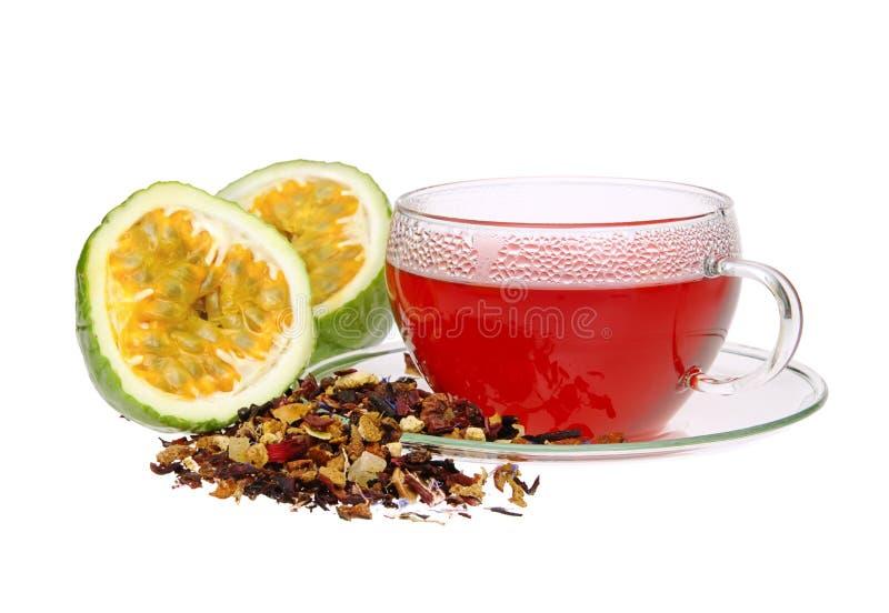 Chá da fruta de paixão 04 foto de stock royalty free