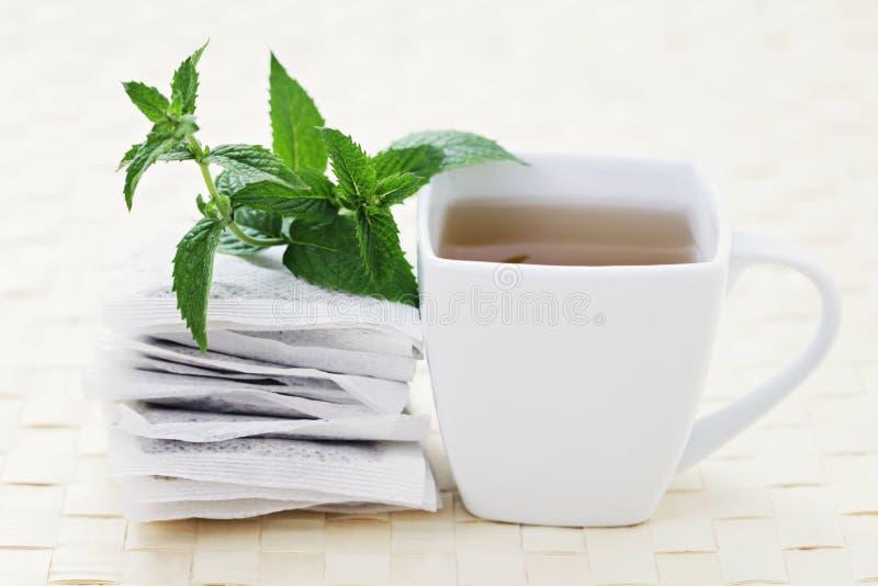 Chá da hortelã foto de stock royalty free