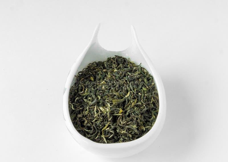 Chá da mola do caracol do verde de Biluochun (chun do lo do pi) fotografia de stock royalty free
