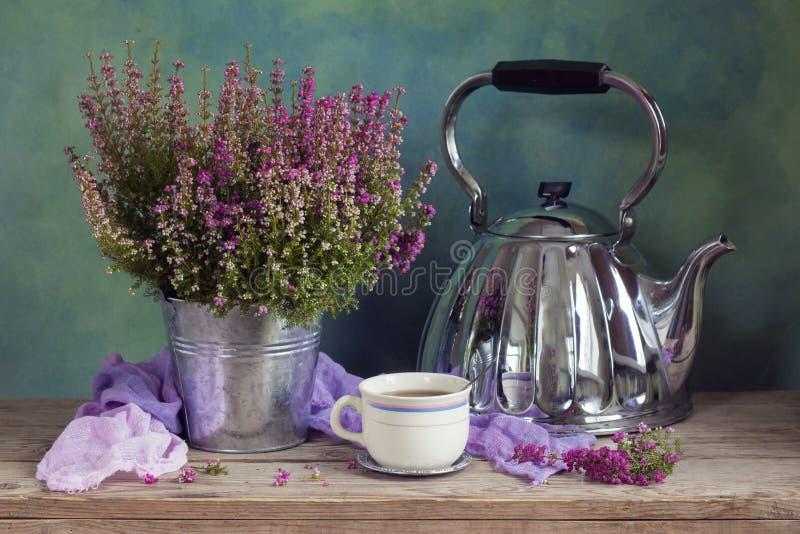 Chá da urze imagens de stock royalty free