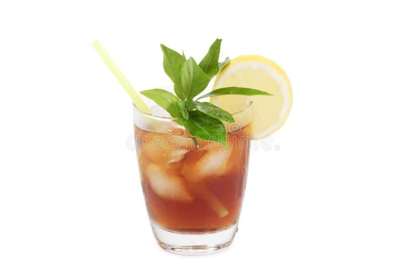 Chá de gelo do limão imagem de stock royalty free