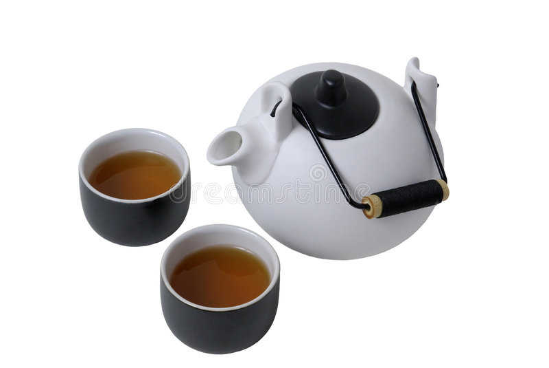 Chá de Japão imagens de stock royalty free