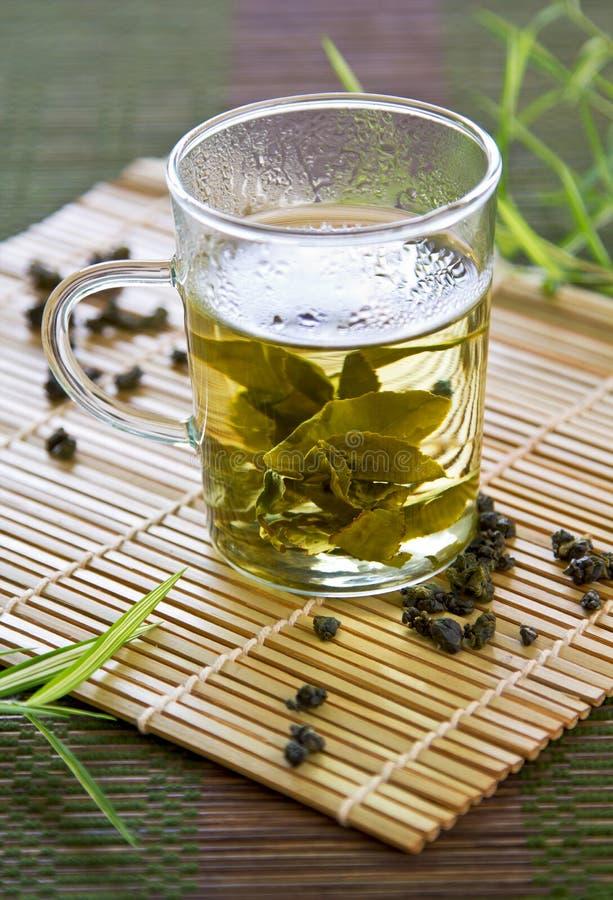 Chá de Oolong fotografia de stock
