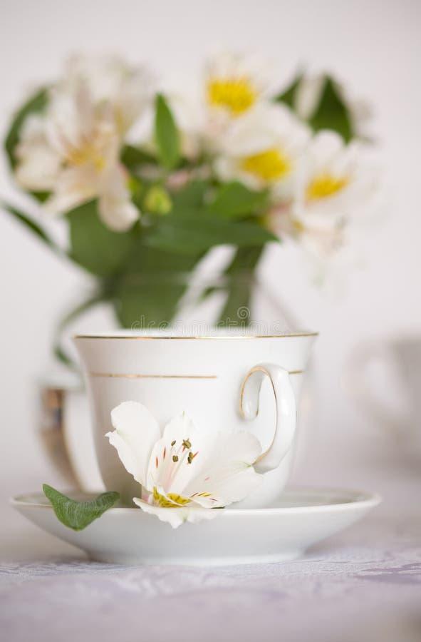 Chá de tarde fotografia de stock