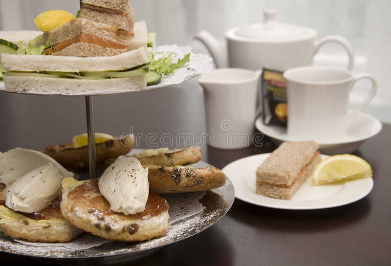 Chá de tarde. imagem de stock royalty free