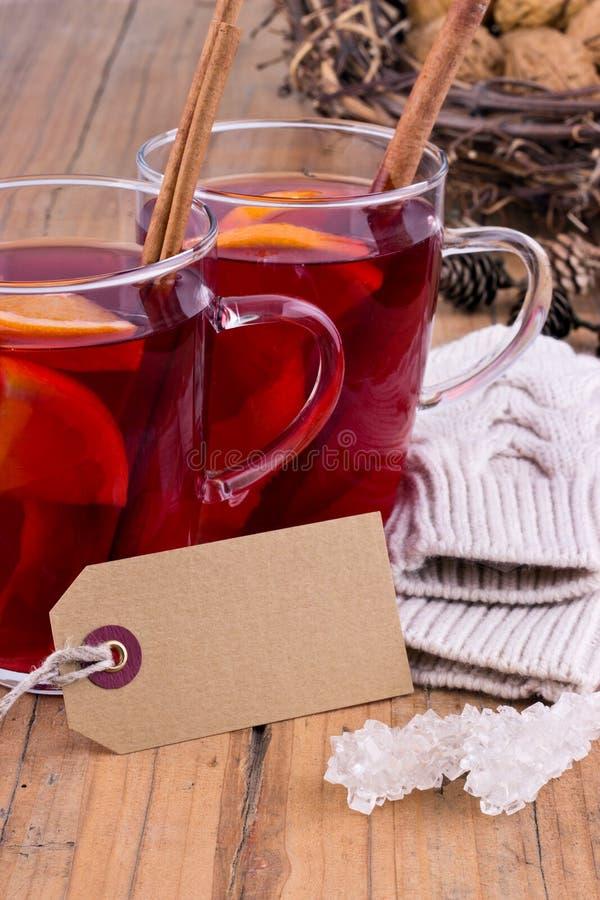 Chá do fruto imagens de stock