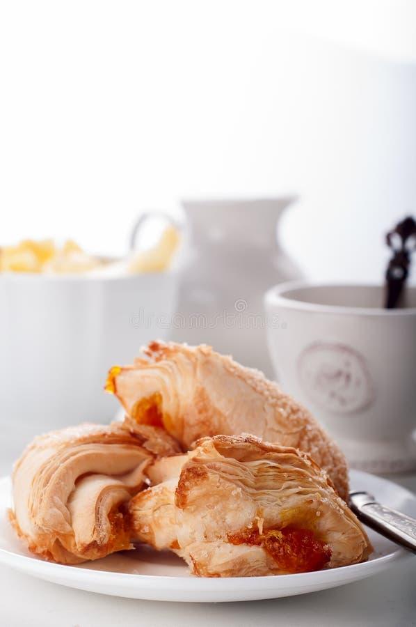 Chá do inglês do cookieswith do sopro imagem de stock royalty free