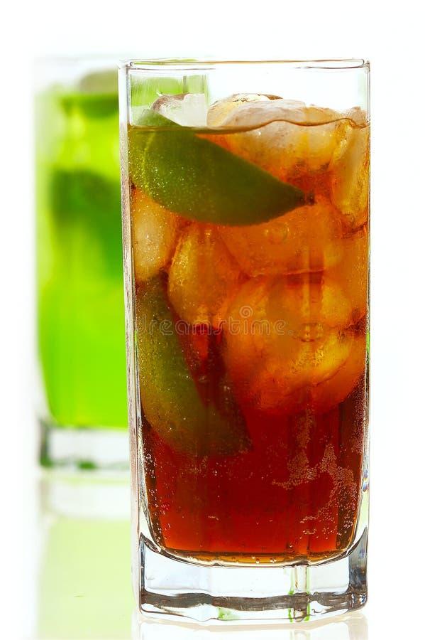 Chá do limão do gelo imagem de stock royalty free