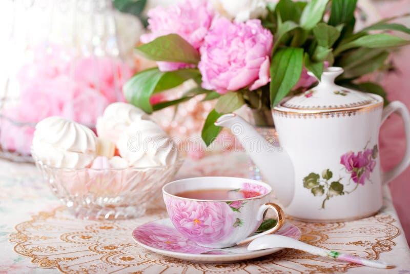 Chá do vintage fotos de stock