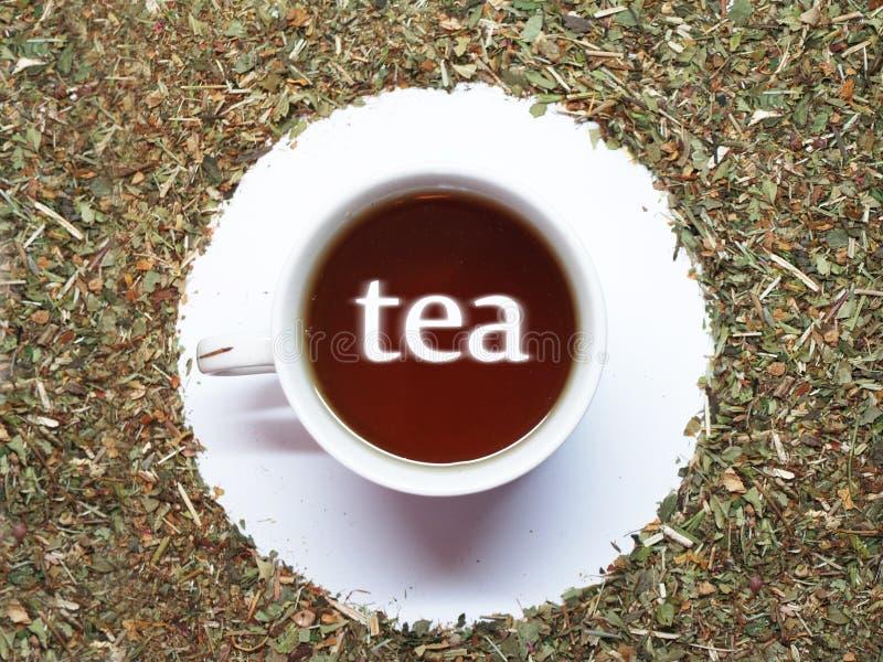 Chá dos pares fotografia de stock royalty free