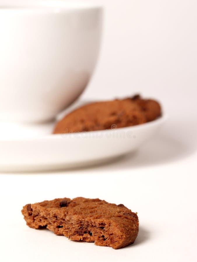 Chá e biscoitos foto de stock royalty free