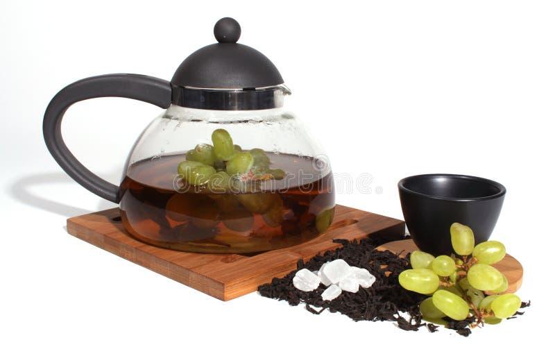 Download Chá e fruta foto de stock. Imagem de açúcar, bebida, quente - 16874062