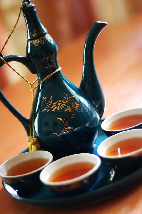 Chá elegante foto de stock
