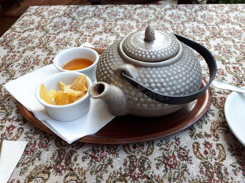Chá em lviv fotos de stock