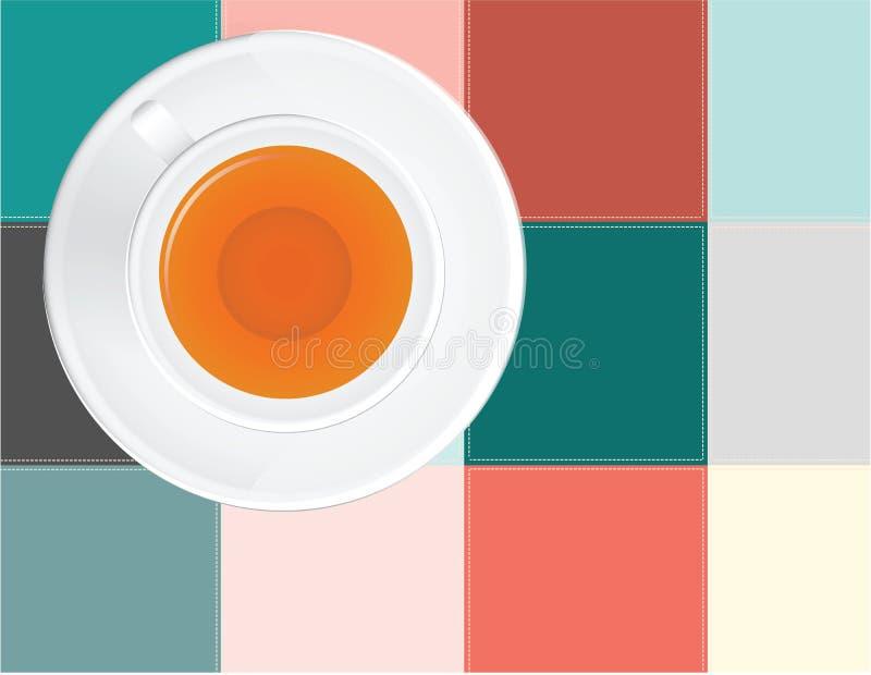 Download Chá em um guardanapo ilustração do vetor. Ilustração de de - 26511538
