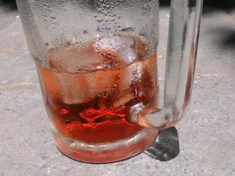 Chá fresco foto de stock