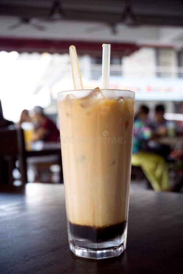 Chá gelado de três camadas fotografia de stock royalty free