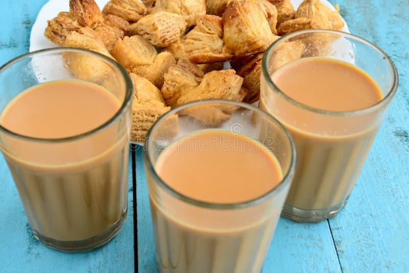 Chá indiano fotografia de stock