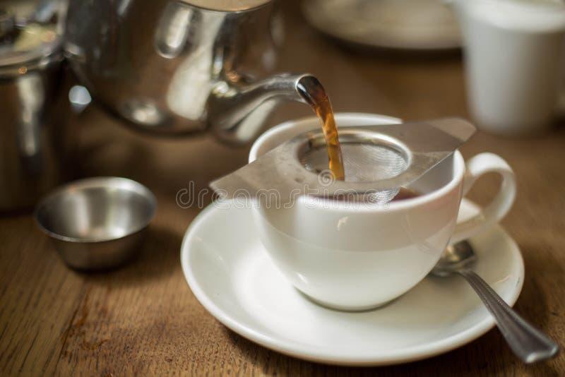 Chá inglês tradicional foto de stock