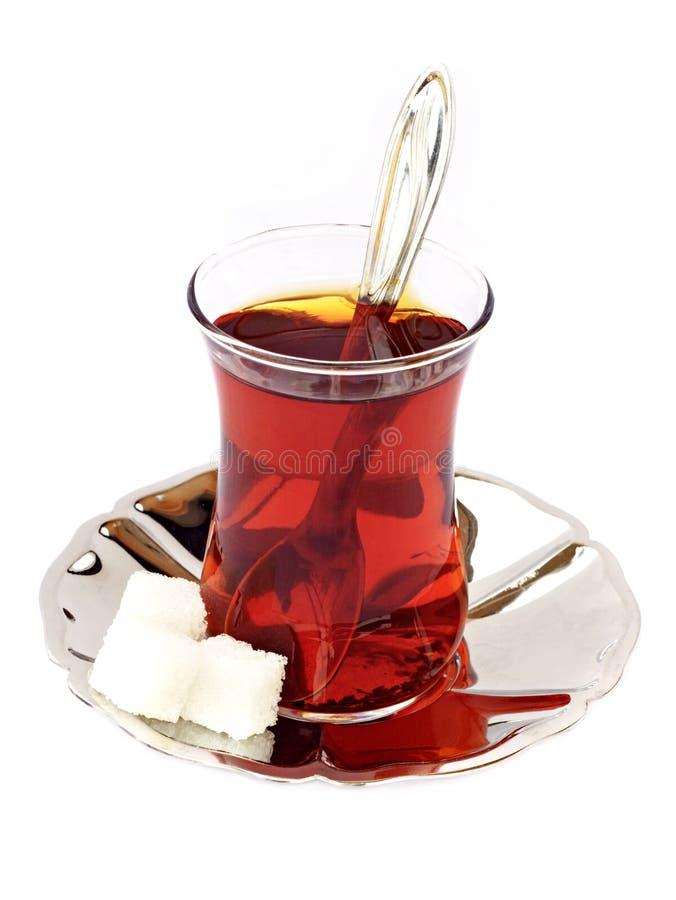 Chá no branco imagem de stock royalty free
