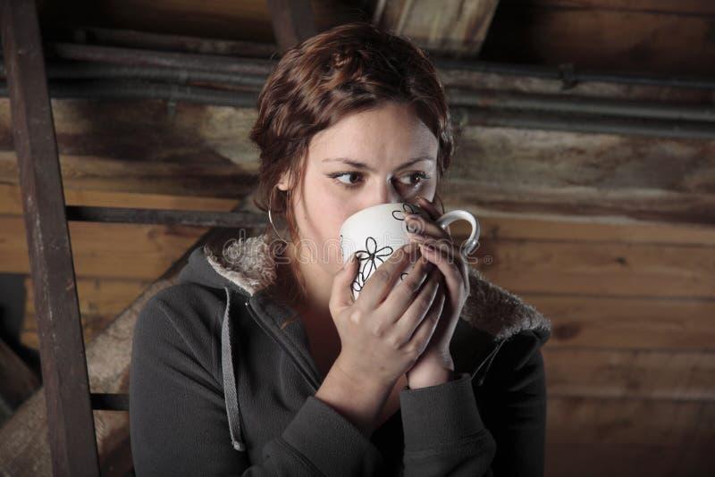 Chá no sótão foto de stock royalty free