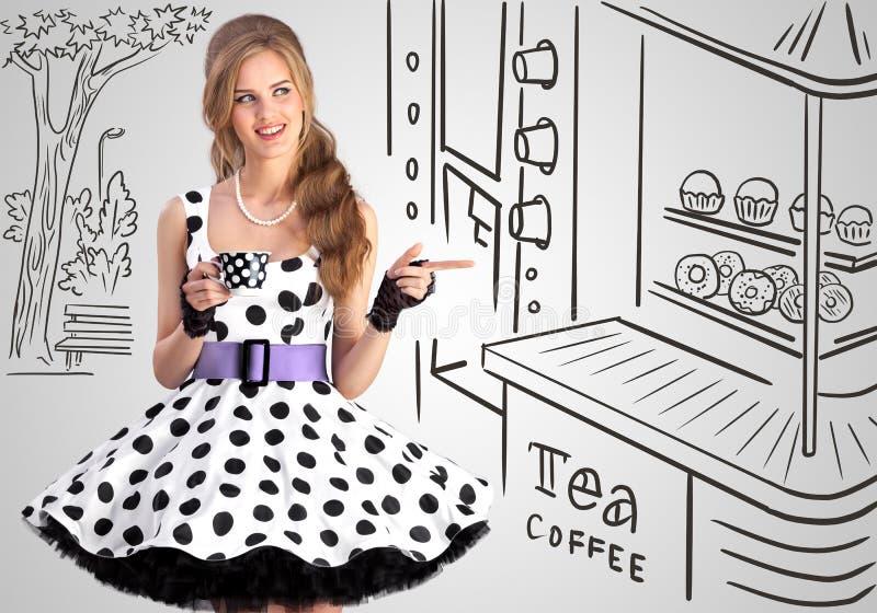 Chá ou café fotos de stock