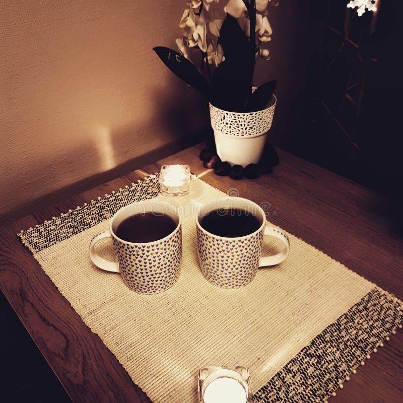 Chá para dois imagens de stock