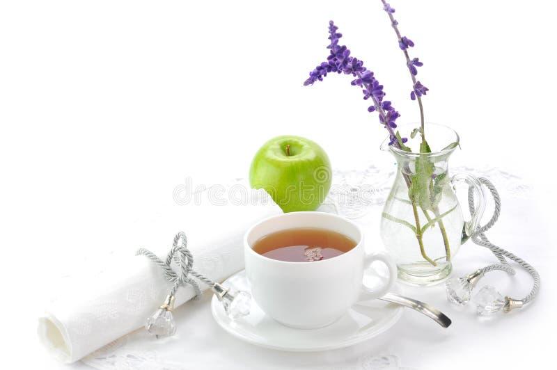 Chá preto da manhã foto de stock royalty free