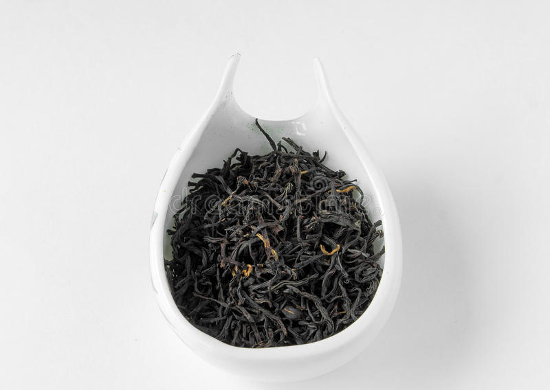 Chá preto fumado do souchong de Lapsang no chahe imagem de stock royalty free