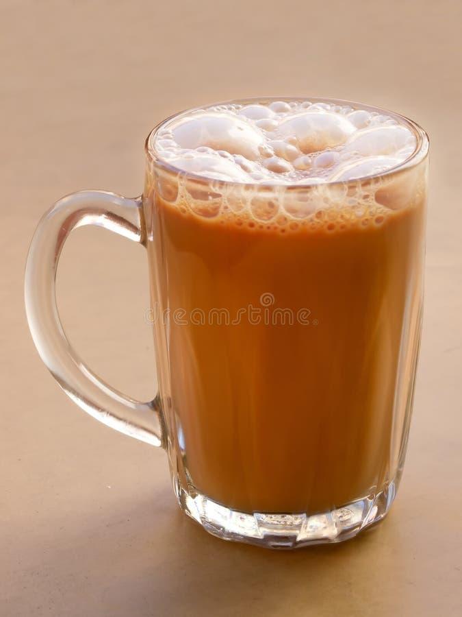 Chá puxado asiático do leite fotos de stock