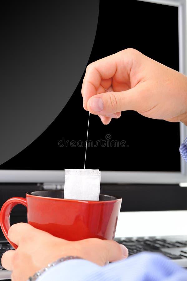 Chá-quebre imagens de stock