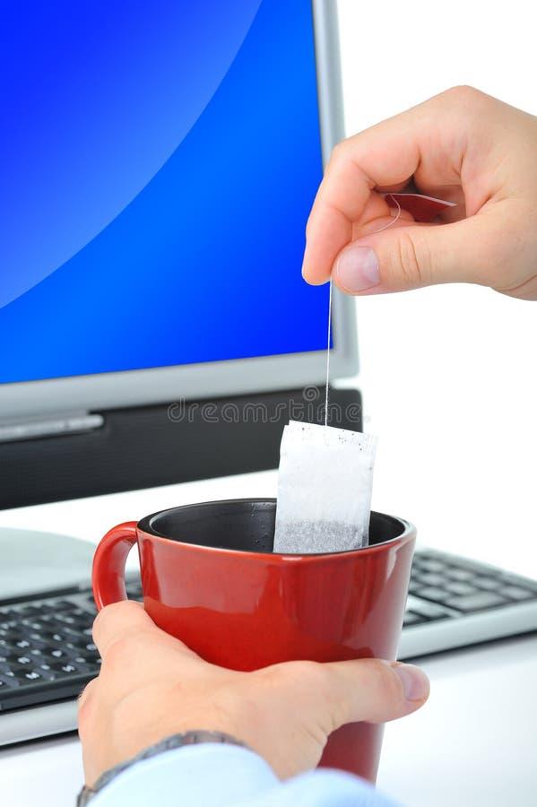 Chá-quebre foto de stock