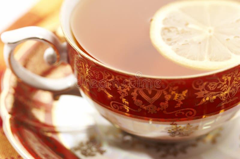 Chá quente foto de stock