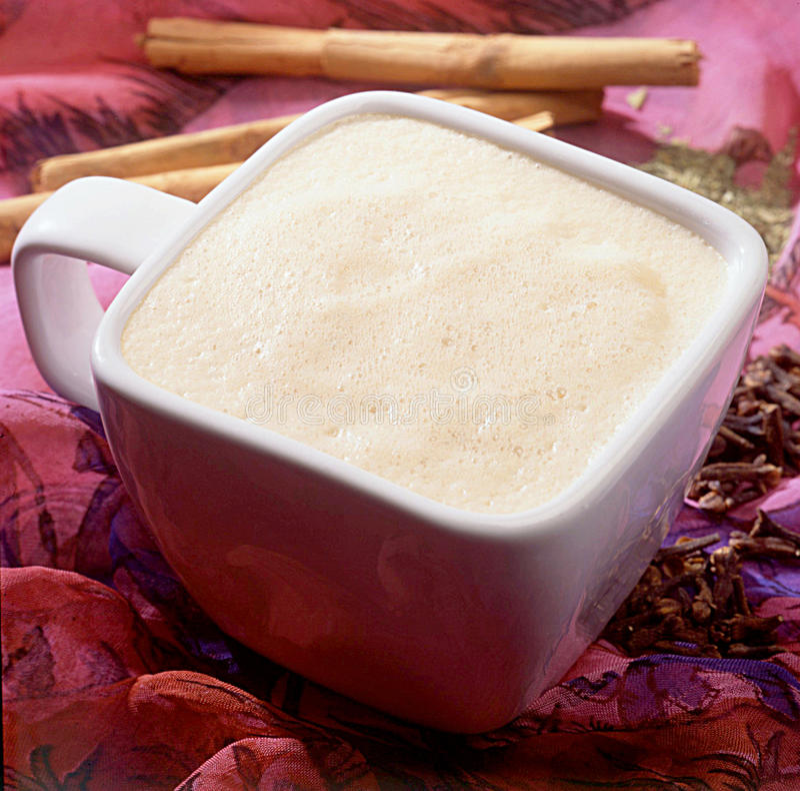 Chá quente de chai. fotografia de stock