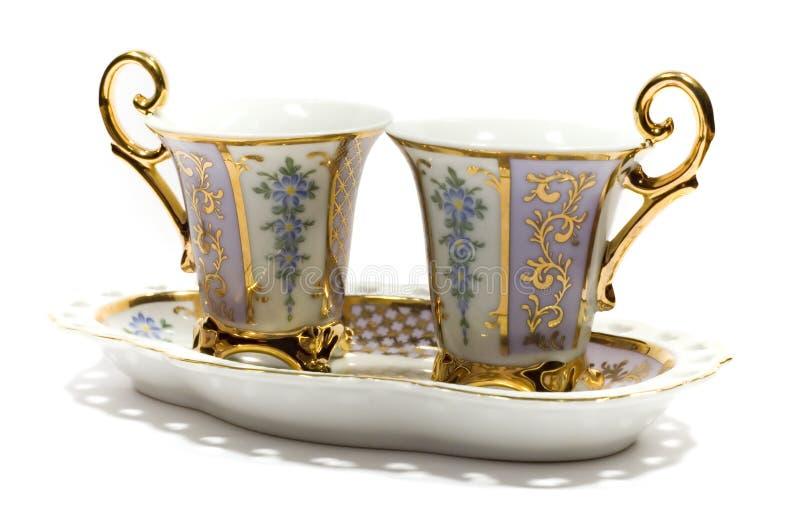 Chá-serviço imagem de stock