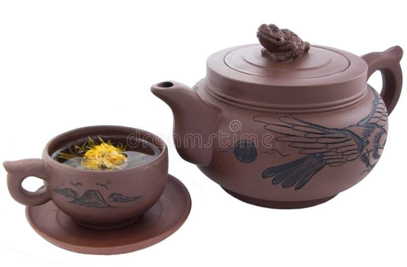 Chá-serviço imagem de stock royalty free