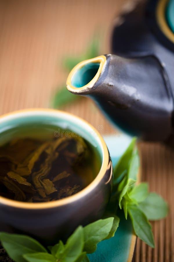 Chá verde fotografia de stock royalty free