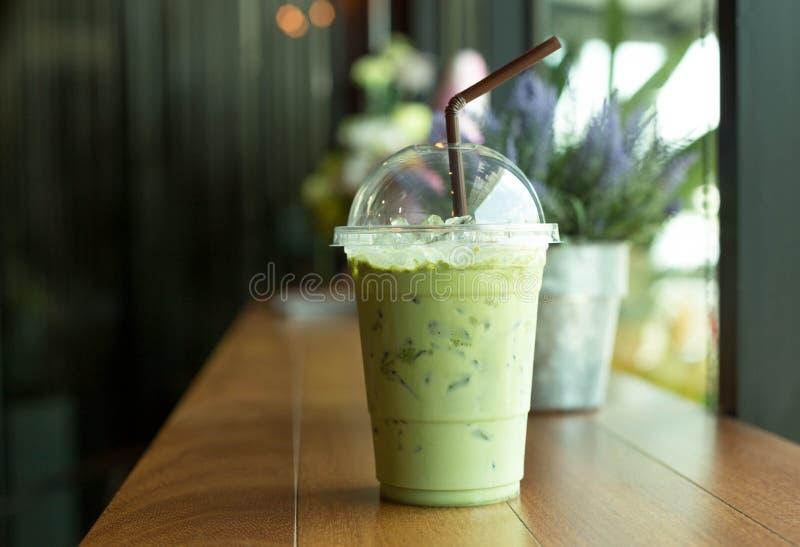 Chá verde congelado do matcha imagens de stock royalty free
