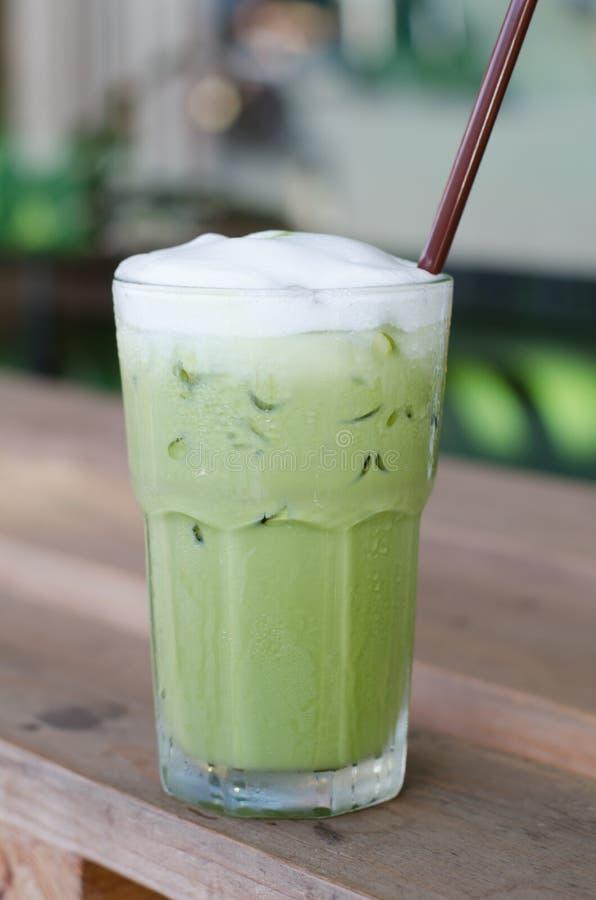 Chá verde do gelo foto de stock royalty free