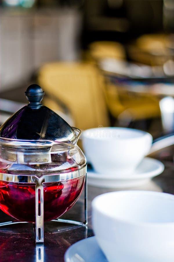 Chá vermelho imagem de stock