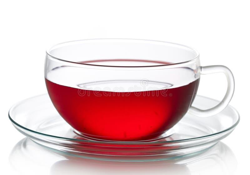 Chá vermelho do fruto fotografia de stock