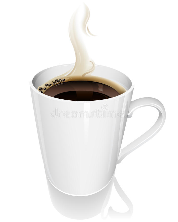 Chávena de café ilustração stock