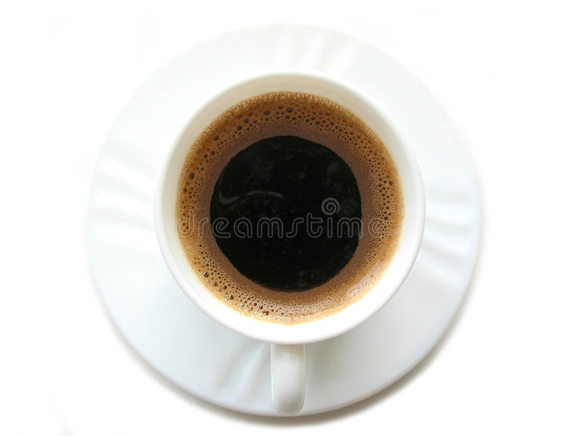 Chávena de café 2 fotografia de stock royalty free