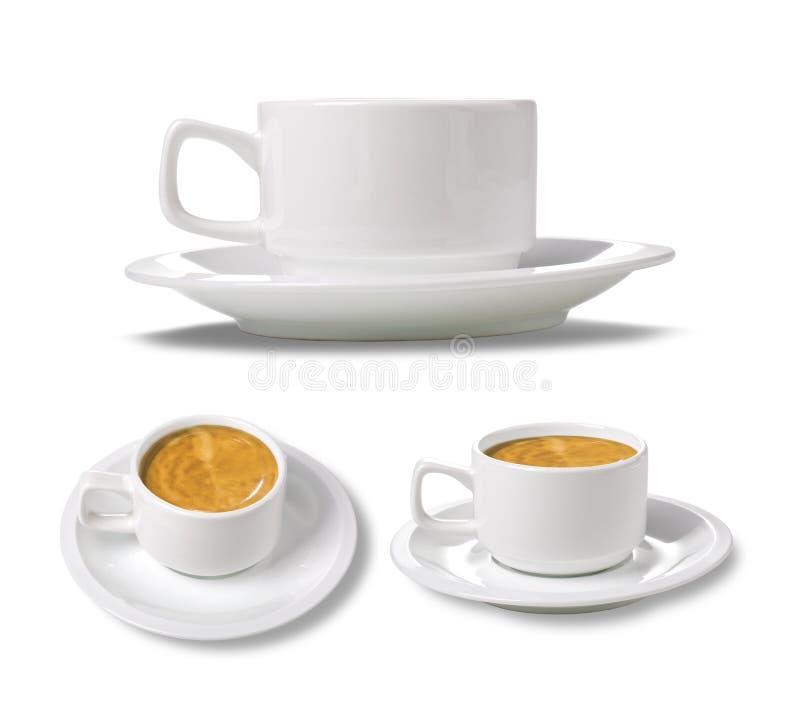 Download Chávena de café branca imagem de stock. Imagem de caneca - 29833849