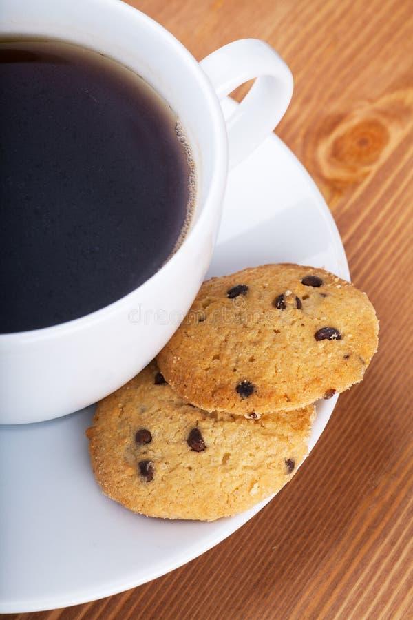 Download Café e biscoitos foto de stock. Imagem de copo, indulgence - 29845776