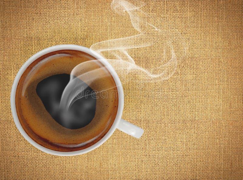 Chávena de café com espaço da cópia imagem de stock royalty free