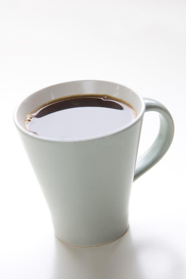 A chávena de café disparou de acima imagem de stock royalty free