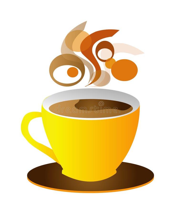 Chávena de café do vetor ilustração do vetor