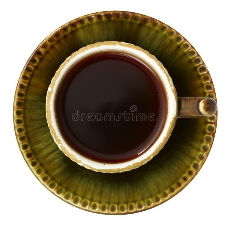 Download Chávena de café do vintage foto de stock. Imagem de flatware - 16868866