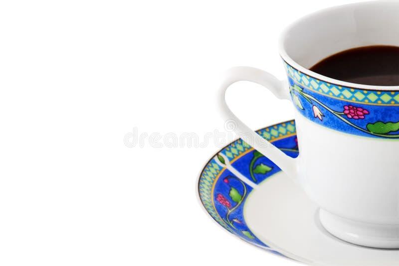 Download Chávena De Café Em Uma Placa Colorida No Branco Foto de Stock - Imagem de latte, líquido: 12803580